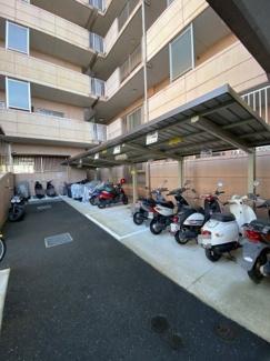 バイクスペースあり