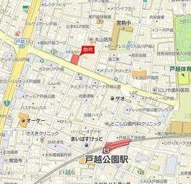【地図】ブリリア品川戸越耀邸