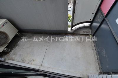 【バルコニー】ラ・レジダンス・ド京橋