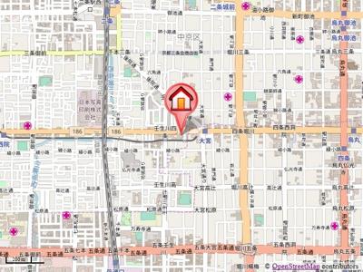 【地図】グランドインペリアル林ビル