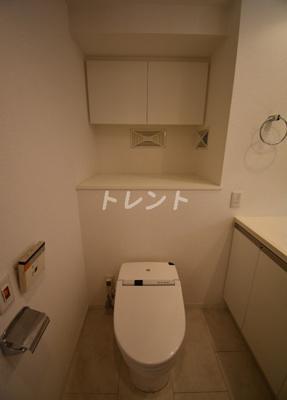 【トイレ】カスタリア銀座Ⅲ