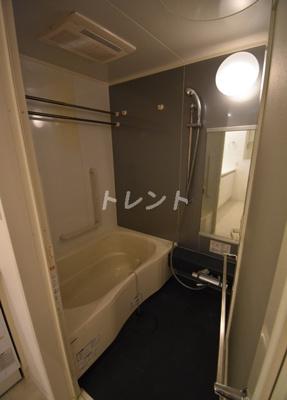 【浴室】カスタリア銀座Ⅲ