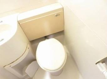 EPO湊町レジデンス トイレ