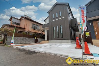 【外観】立川市若葉町2丁目 新築一戸建 全2棟 1号棟