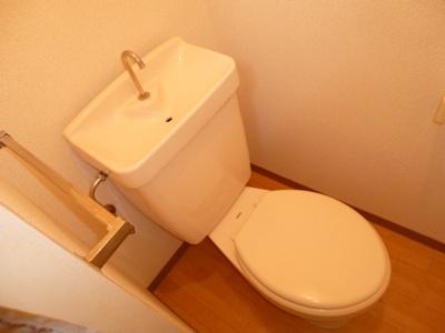 【トイレ】コーポアンシャンテⅠ