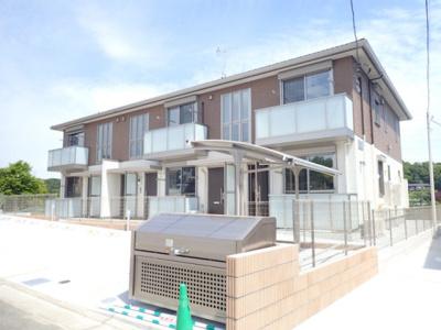 ※外観パース※2020年5月完成予定!ペットOKの新築2階建てアパート♪小田急線「五月台」駅より徒歩7分の好立地です♪