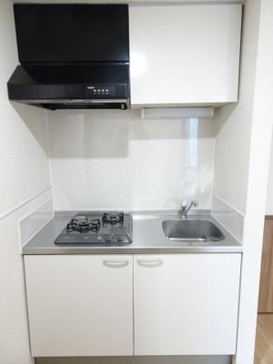 マイテラス ガスコンロ2口のシステムキッチン