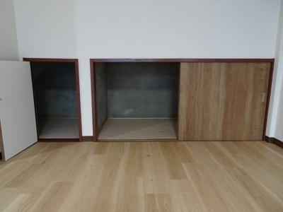 マイテラス 収納スペース