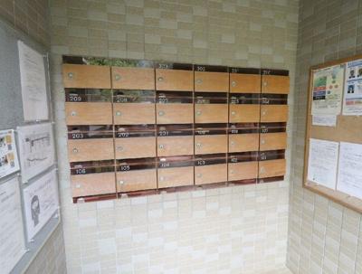 『パシフィックパレス荻窪』のメールボックスです。