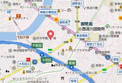 【地図】HR千舟