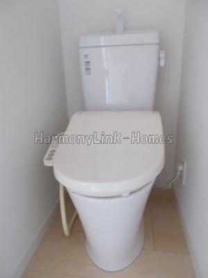 フェリスエポックの清潔感のあるトイレです(別部屋参考写真)