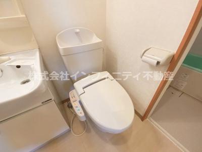ウォシュレットつきトイレ