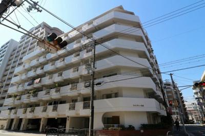 【現地写真】 鉄骨鉄筋コンクリート造9階建マンション♪