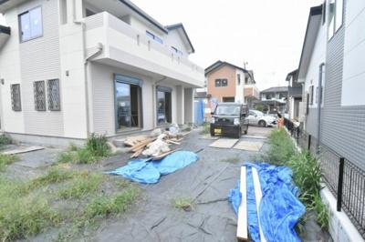 【前面道路含む現地写真】加須市騎西 全4区画