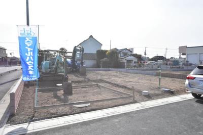 【外観】加須市騎西 全4区画 建築条件付き売地