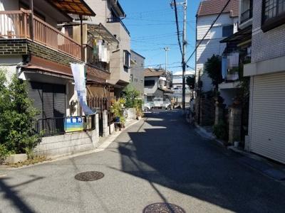 【前面道路含む現地写真】堺市中区深井北町 リフォーム済み中古戸建