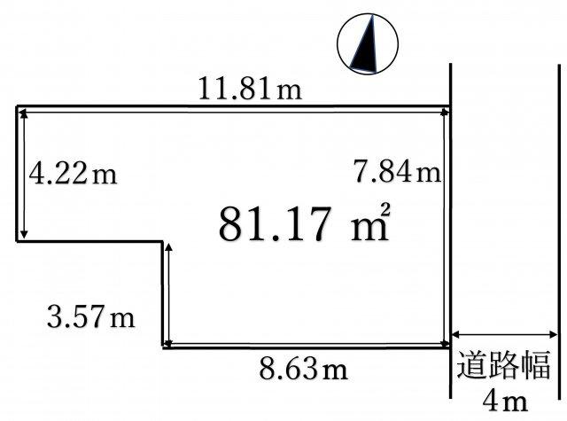 【土地図】弁天4丁目土地
