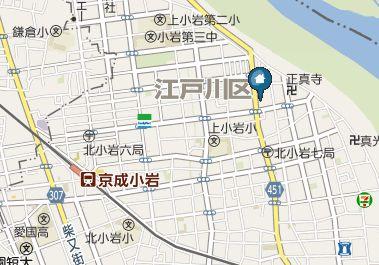 【地図】PERSEO(ペルセオ)