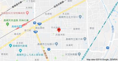 【地図】ハイツ沢良木 (株)Roots