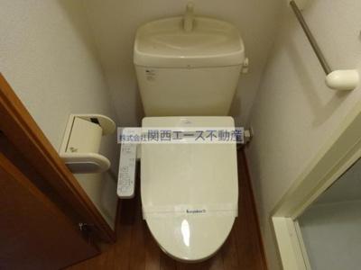 【トイレ】レオパレスアルフ