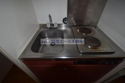【キッチン】レオパレスヴィラⅡ