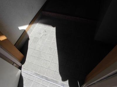 室内への段差はそんなに高くない造りになっています。