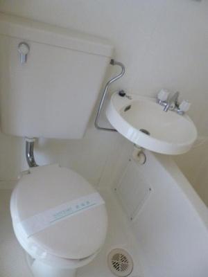 【トイレ】ヴィラ・フェザント