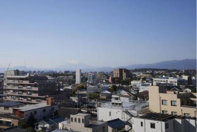 圧巻の富士山ビュー!日差しを遮る前面棟もございません。