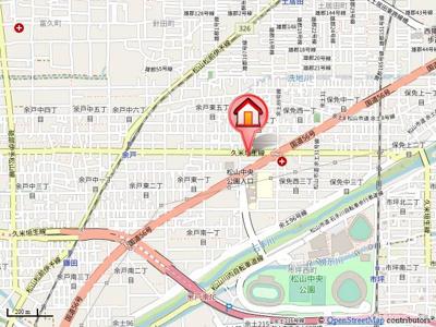 【地図】パルフェ保免・