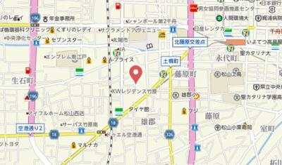 【地図】ミーシグマンション咲くら