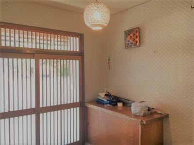 【玄関】甲府市塩部戸建住宅