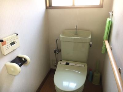 【トイレ】甲府市塩部戸建住宅