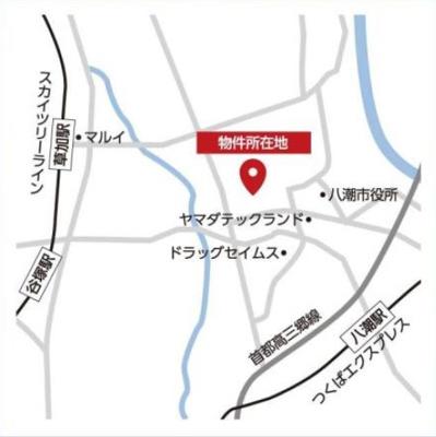 案内図:八潮新築ナビで検索