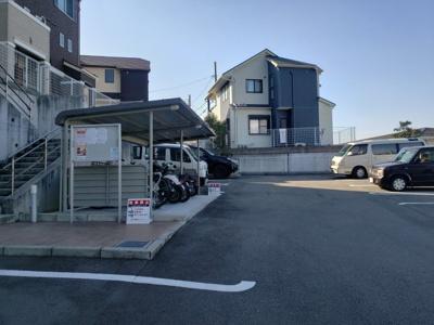 駐輪場☆神戸市垂水区 舞子坂ヒルズⅢ☆