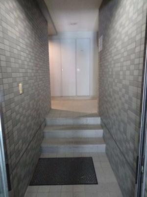 パルクレール日之出 1階共用廊下