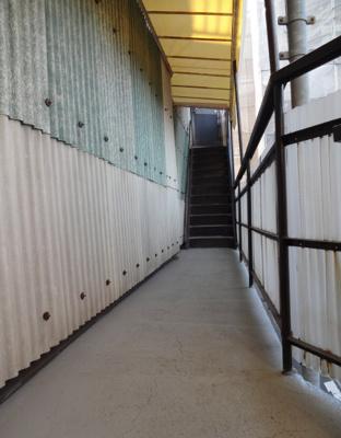 城戸口ビル 共用廊下