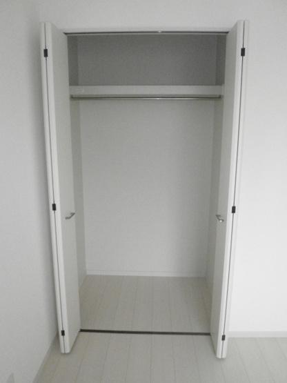各部屋に十分な収納スペースがあります!