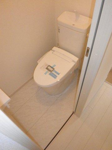 2階用のトイレです!
