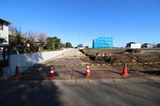 【外観】坂戸市長岡 建築条件なし売地 「坂戸駅」4.6㎞ 敷地90坪