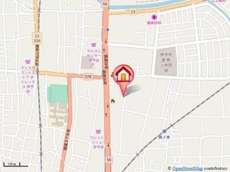 【地図】プレジール田中A.B