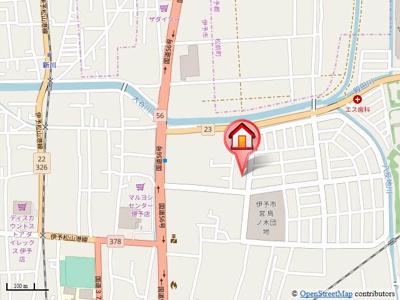 【地図】フレンドリーハイツ日野 A・B棟