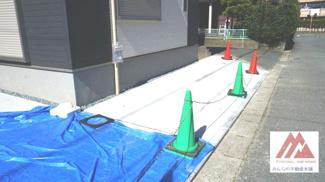 2台目の駐車場スペース