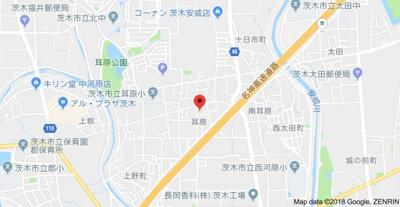 【地図】虎谷貸家