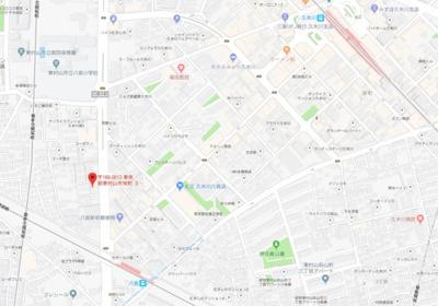 【地図】ミレ栄町貸家