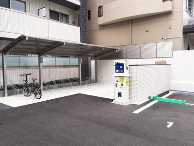 【駐車場】アドバンス京都西院パルティーレ