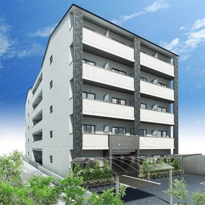 【外観パース】アドバンス京都西院パルティーレ