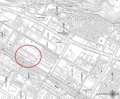 【地図】大津市本堅田6丁目3013-7 分譲地