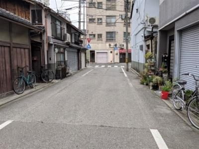 【前面道路含む現地写真】京都市東山区山田町