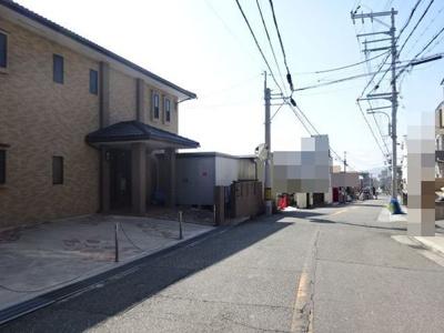 【前面道路含む現地写真】高丸4丁目 戸建
