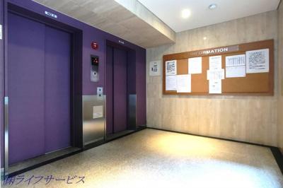 エレベーター2基有